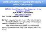 com 600 study teaching effectively com600study com 10