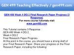 gen 499 teaching effectively gen499 com 13