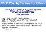 gen 499 teaching effectively gen499 com 9