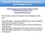 gen 499 papers teaching effectively gen499papers 1