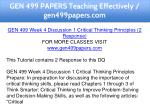 gen 499 papers teaching effectively gen499papers 12