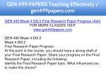 gen 499 papers teaching effectively gen499papers 13