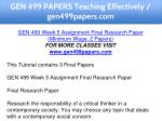 gen 499 papers teaching effectively gen499papers 15