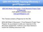 gen 499 papers teaching effectively gen499papers 5
