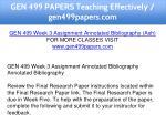 gen 499 papers teaching effectively gen499papers 7