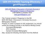 gen 499 papers teaching effectively gen499papers 9