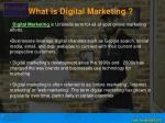 what is digital marketing digital marketing