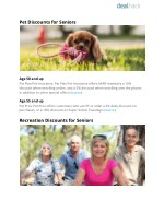 pet discounts for seniors