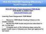 hcs 457 master teaching effectively hcs457master 11