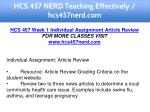 hcs 457 nerd teaching effectively hcs457nerd com 4