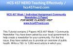 hcs 457 nerd teaching effectively hcs457nerd com 5