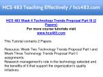 hcs 483 teaching effectively hcs483 com 16