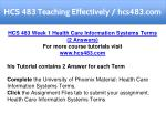 hcs 483 teaching effectively hcs483 com 4