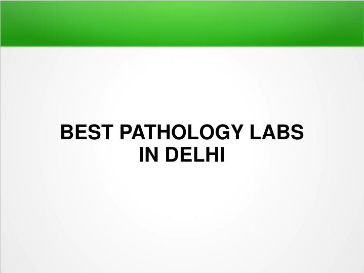 best pathology labs in delhi n.