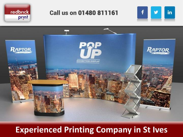 experienced printing company in st ives n.