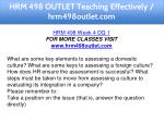 hrm 498 outlet teaching effectively hrm498outlet 9