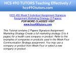 hcs 490 tutors teaching effectively hcs490tutors 17