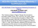 hcs 490 tutors teaching effectively hcs490tutors 18