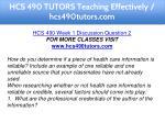hcs 490 tutors teaching effectively hcs490tutors 3