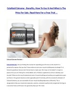 celuraid extreme benefits how to use it and what