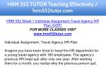 hrm 552 tutor teaching effectively hrm552tutor com 6