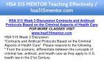 hsa 515 mentor teaching effectively hsa515mentor 10