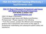 hsa 515 mentor teaching effectively hsa515mentor 13