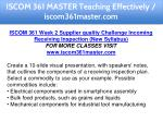 iscom 361 master teaching effectively 11