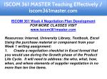 iscom 361 master teaching effectively 23