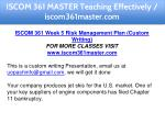 iscom 361 master teaching effectively 27