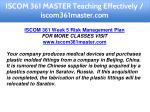 iscom 361 master teaching effectively 28