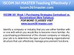 iscom 361 master teaching effectively 5