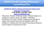 iscom 361 aid teaching effectively iscom361aid com 10