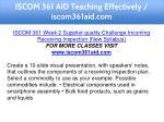 iscom 361 aid teaching effectively iscom361aid com 11