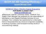 iscom 361 aid teaching effectively iscom361aid com 16