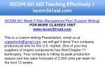iscom 361 aid teaching effectively iscom361aid com 27