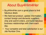 about buy4him4her
