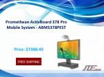 promethean activboard 378 pro mobile system