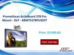 promethean activboard 378 pro mount