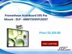 promethean activboard 595 pro mount