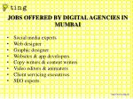 jobs offered by digital agencies in mumbai