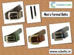 men s formal belts