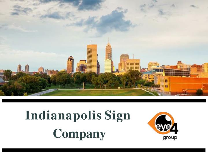indianapolis sign company n.