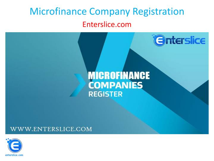 microfinance company registration n.