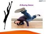 b boying dance