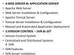 4 web server 8s application server apache