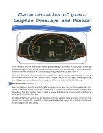 characteristics of great graphic overlays
