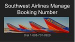 southwest airlines manage booking number