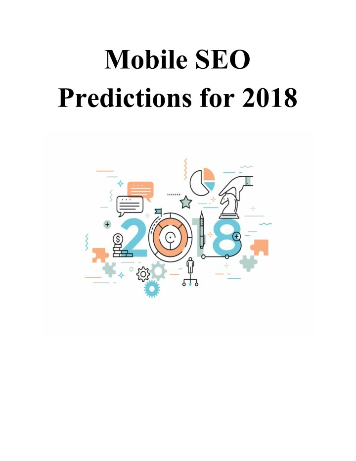 mobile seo predictions for 2018 n.