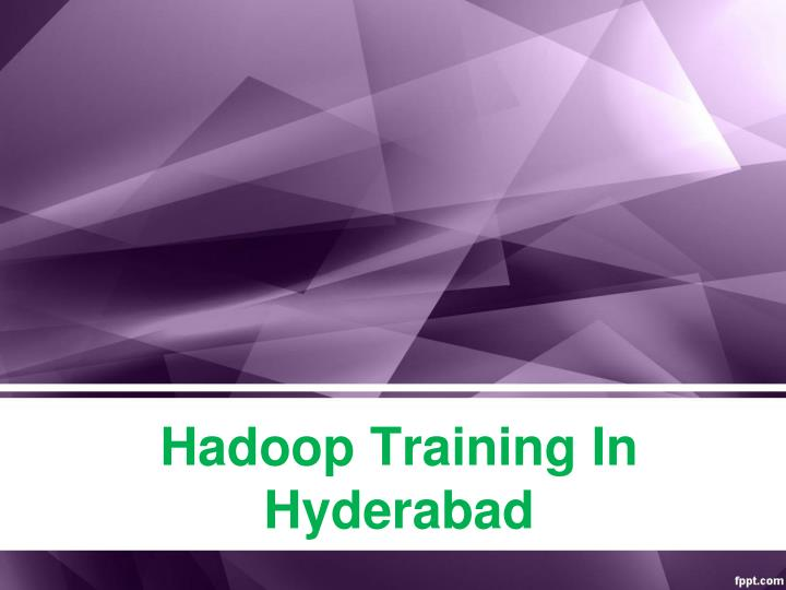 hadoop training in hyderabad n.